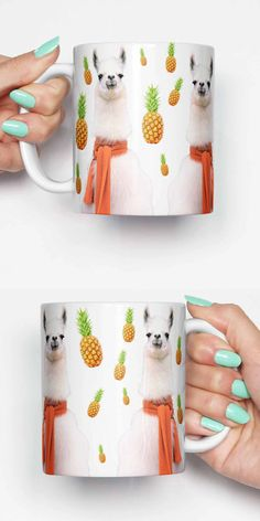 FREE SHIPPING coupon SHIPPY When spending over $28/£20/€26  Llama scarf pineapples - coffee mug. This unique meme mug is a great gift for him or a gift for her. Can also be a great housewarming gift. Lastly this would be a cool office mug.  Dishwasher safe with amazing quality print.  IF YOU WOULD LIKE DIFFERENT DESIGNS WHEN SELECTING TWO, THREE OR FOUR MUGS. PLEASE LEAVE A NOTE OF THE PRODUCT CODES AT CART WHICH CAN BE FOUND AT THE END OF THE TITLE.