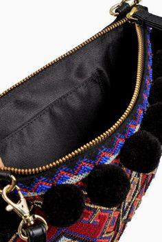 Buy Multi Pom Pom Clutch Bag from the Next UK online shop
