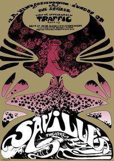 Traffic Saville Theatre Poster. The Low Spark of High-Heeled Boys still rocks. Thanks @Beatpix.com.