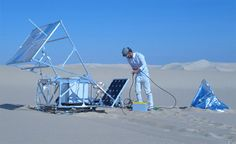 """Mark Kayser takes his graduate project to the Saharan sands of Egypt to create an innovative idea known as """" Sinter Solar. Exceptional design using 3D digital printers and sunlight to turn sand into glass bowl and extraordinary sculptures out of this world"""