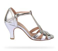 Sandale Beth Or Blanc Agneau