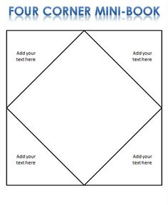 Fraction Foldable Template