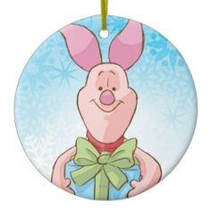 Piglet, Disney Christmas Ornaments | http://shoppingwithadam.com/disney-christmas-ornaments/