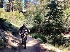 Mountain Biking Big Bear Lake: Snow Summit Mountain resort