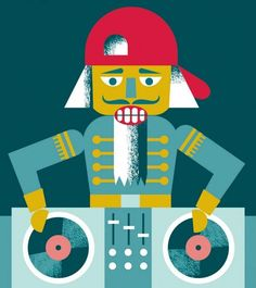 While looking for articles to gauge how the show's been doing I found this piece of artwork by illustrator #CristinaMartinezByvik in The Washington Post.  It caught my eye because it in my opinion captures what we've been striving for with The #HipHopNutcracker . The image of the #Nutcracker working a pair of #Turntables bringing together the old with the new the melding of #Tchaikovsky 's classical score with #HipHop beats and the modern movements of #HipHop #Dance ; it's exactly what…