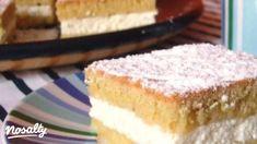 Zsíros túrós sütemény | Nosalty Vanilla Cake, Food, Essen, Meals, Yemek, Eten
