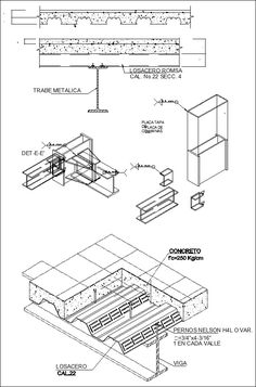 Steel Structure Details 】★ Cad Library Autocad Blocks