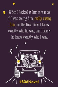When I looked at him...#806Novel #YA