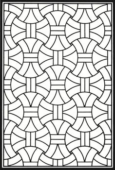Welcome To Dover Publications Creative Haven Geometric Genius Stained Glass Coloring Book