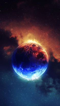 Planets Wallpaper, Wallpaper Space, Galaxy Wallpaper, Nature Wallpaper, Wallpaper Backgrounds, Wallpaper Earth, Beautiful Wallpaper, Allah Wallpaper, Fire And Ice Wallpaper