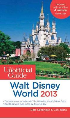 The Unofficial Guide to Walt Disney World 2013 (Paperback)...read this front to back. Yep, I'm a nerd, but it paid off because this was the only resource I needed for an AMAZING vacation at Disney!!!