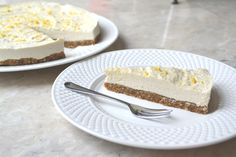 Vegan Coconut Lemon Cheesecake