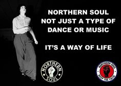 NORTHERN SOUL MOTIVATIONAL INSPIRATIONAL SIGN POSTER PRINT. NOT JUST A DANCE...: Amazon.co.uk: Kitchen & Home