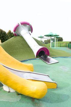 JOELIX.com - My favorite Aire de Jugy http://www.joelix.com/My-favorite-Aire-de-Jugy #playground #mushrooms