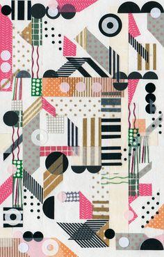 MT Collaged | Blinkblink Patterns