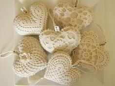 """Delicadezas en crochet Gabriela: """"Corazón"""". Una selección de patrones"""