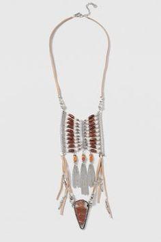 Ladder Shard Pendant Necklace