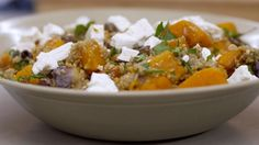 Eén - Dagelijkse kost - warme salade met geroosterde pompoen, quinoa en feta/warm salad with roasted butternut, quinoa and feta