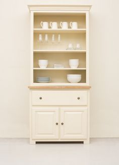 The Studio 011 Kitchen Dresser Painted In Cream From Company