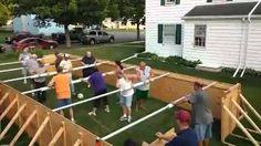 soccer foose ball jo-g - YouTube