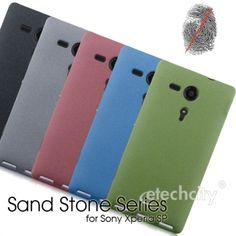 Sand Stone Series Anti-Fingerprint PC Case for #Sony Xperia SP #M35H [PCAF-SNYM35H] - $15.00
