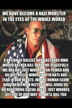 Even more true today than when Hunter said it!