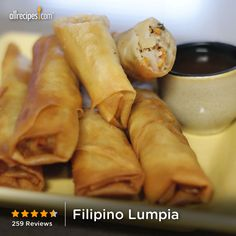 Filipino Lumpia | 'I grew up on lumpia and never knew how to cook it. This was the perfect recipe to remind me of home!""