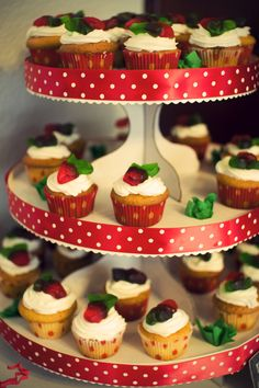 gummy topped cupcakes.tiers