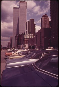 <b>40 years ago the newly constructed World Trade Center loomed large over Lower Manhattan.</b>