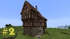 Minecraft Tutorial Kleines Haus Mittelalterlich Minecraft - Minecraft haus ideen mittelalter