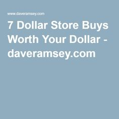 Despite the great discounts, not everything at the dollar store is a steal. Here are 15 items we think are worth your dollar, plus some to skip. Investing Money, Saving Money, Debt Free Living, Debt Payoff, Financial Goals, Money Matters, Ways To Save Money, Dollar Stores, Finance