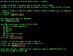 Fig.02: Setting up OpenVPN server on an Ubuntu Linux server v16.04 LTS