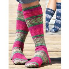 Free Knee and Basic Sock Knit Pattern - Free Patterns - Books & Patterns