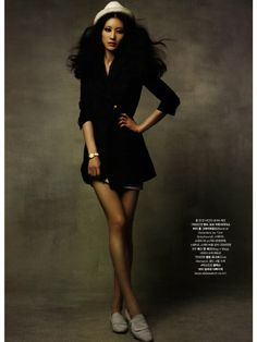 Lee Hyun Yi by Choi Yongbin for Marie Claire Korea June 2010.