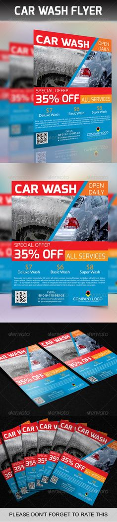 Car Wash Flyer Car wash, Cars and Brochures - car wash flyer template