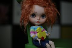 TBL Blythe doll at STOCK OOAK doll Custom by AnnKirillartPlace