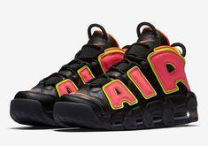 new concept 337c8 e5341 The Nike WMNS Air More Uptempo Hot Punch is officially introduced and its  dropping in April.