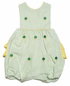 fbbda478f Haven Girl Lime Green St. Patrick's Day Heart of Clovers / Shamrocks ...