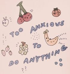too anxious to do anything Im Losing My Mind, Lose My Mind, Arte Punk, Arte Indie, A Silent Voice, Up Book, Pretty Words, Wall Collage, Anxiety