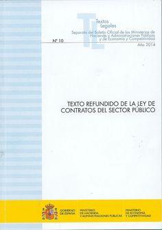 Texto refundido de la Ley de contratos del sector público : (actualización octubre 2014)