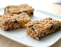 Nut-free Quinoa Granola Bars