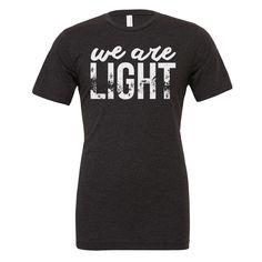 Yoga shirt - We are light