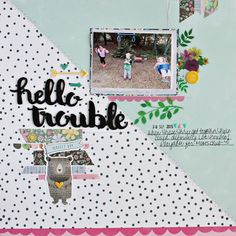I just love the happy color scheme of the March Kits from Gossamer Blue! There is a pack of Thickers in the Main Kit that make the . Gossamer Blue, Happy Colors, Color Schemes, Scrapbook, Day, R Color Palette, Colour Schemes, Scrapbooking, Guest Books