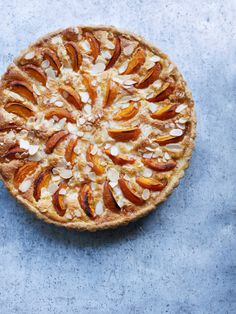 Apricot and vanilla tart. For the full recipe, click the picture or see www.redonline.co.uk