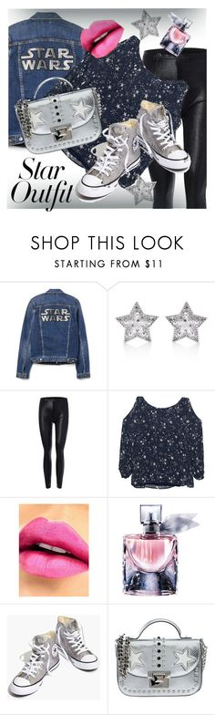 """Untitled #52"" by mirchu-1 ❤ liked on Polyvore featuring CZ by Kenneth Jay Lane, Velvet by Graham & Spencer, Milani, Lancôme, Madewell, La Carrie and StarOutfits"