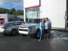 Look at the all new 2015 #Toyota #4Runner purchased by the Jervis Family of Prestonsburg, KY from Chris Fouts! Thank you all and we welcome you to the Walters Toyota Nissan Family! #WaltersToyota #WaltersNissan