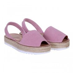 Sandale AVARCA din Piele Roz Pudra Espadrilles, Shoes, Fashion, Sandals, Espadrilles Outfit, Moda, Zapatos, Shoes Outlet, Fasion