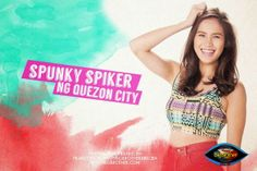 """Pinoy Big Brother All In Housemates photos - Michelle Gumabao """"Spunky Spiker"""" Quezon City, Pinoy, Brother, Entertaining, Big, Photos, Women, Pictures, Funny"""