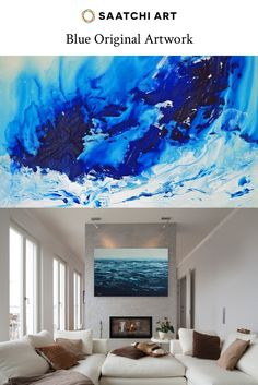 Original Blue Artwork for sale, ranging from photography to painting, abstract to portraiture. There's more to blue art than oceans and beaches, check out our selection of those and everything else.