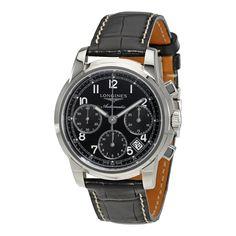 Longines Saint-Imier Collection Chronograph Automatic Men's Watch L2.753.4.53.3 - Saint Imier Collection - Longines - Watches - Jomashop